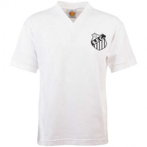 Santos 1950s-1960s Home Retro Football Shirt