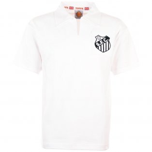 Santos 1960s-1970s Retro Football Shirt