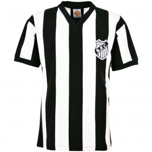 Santos 1970s Retro Football Shirt