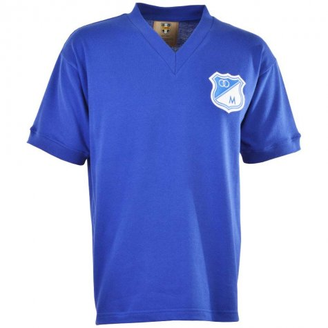 Millionarios 1940s Retro Football Shirt