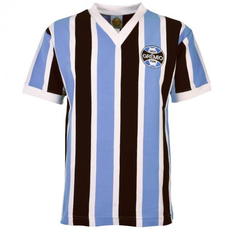 Gremio 1970s Retro Football Shirt