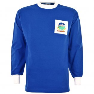 Linfield 1960s Retro Football Shirt