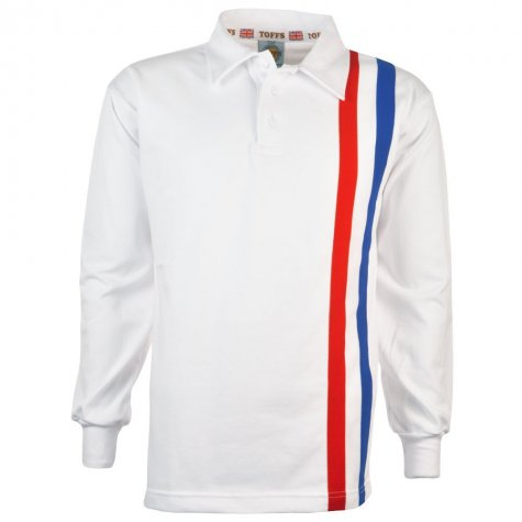 Escape to Victory White Retro Football Shirt