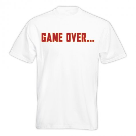 Francesco Totti Game Over T-shirt (White) - Kids