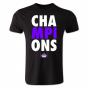 Real Madrid Champions League Winners T-shirt (Black)