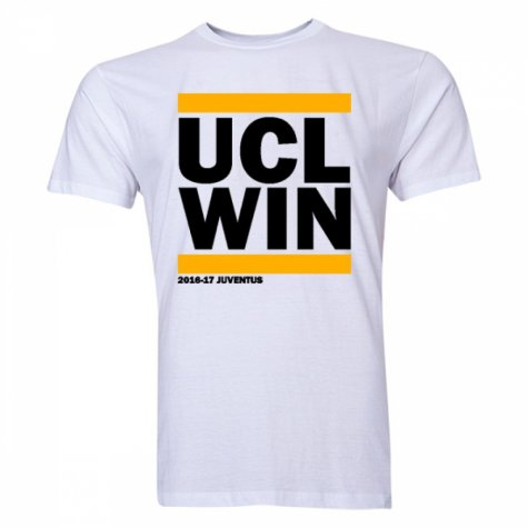 Juventus UCL Winners T-shirt (White) - Kids
