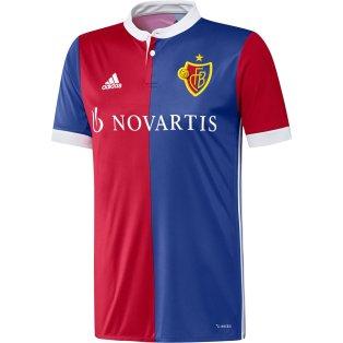 2017-2018 FC Basle Adidas Home Shirt (Kids)
