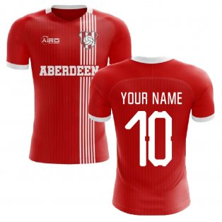 2020-2021 Aberdeen Home Concept Football Shirt (Your Name)