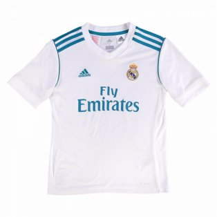 2017-2018 Real Madrid Adidas Home Shirt (Kids)