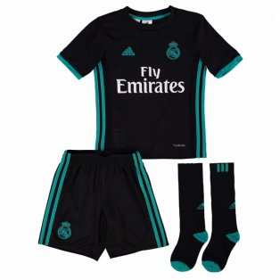 2017-2018 Real Madrid Adidas Away Full Kit (Kids)