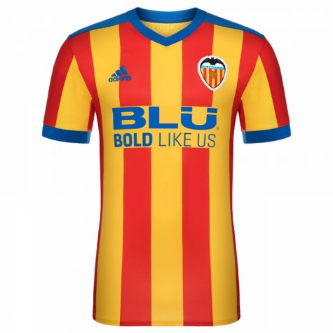 2017-2018 Valencia Adidas Away Football Shirt