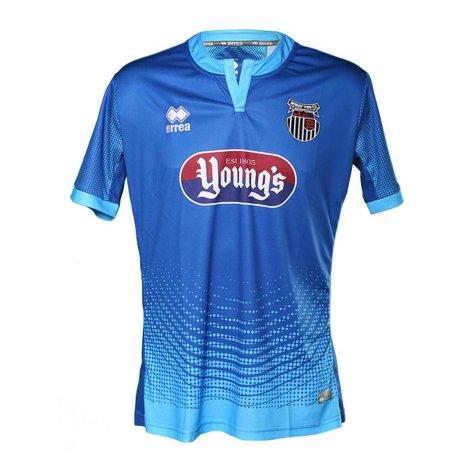2017-2018 Grimsby Town Errea Away Football Shirt