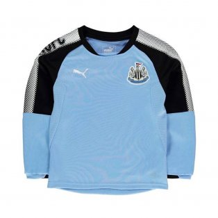 2017-2018 Newcastle Puma Sweat Top (Blue) - Kids