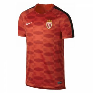 2017-2018 Monaco Nike Dry Pre-Match Training Shirt (Red)
