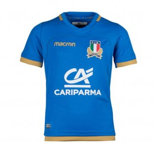 2017-2018 Italy Home Replica Rugby Shirt (Kids)