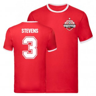 Enda Stevens Sheffield United Ringer Tee (Red)