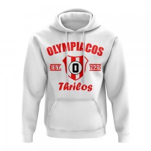 Olympiakos Established Football Hoody (White)