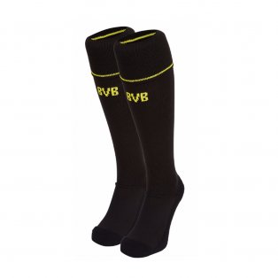 2017-2018 Borussia Dortmund Away Puma Socks (Black)