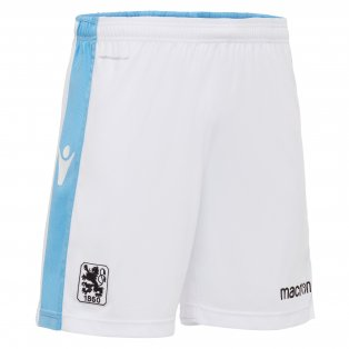 2017-2018 Munich 1860 Macron Home Shorts (White)