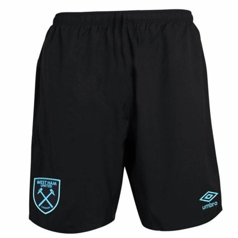 2017-2018 West Ham Away Football Shorts (Kids)