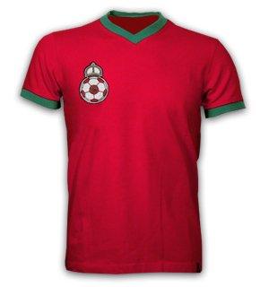 Morocco 1970 Short Sleeve Retro Shirt 100% cotton