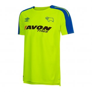 2017-2018 Derby County Away Football Shirt