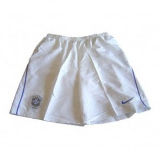 Brazil home shorts 06/07 - Junior