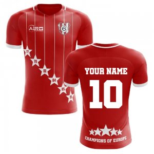 2020-2021 Liverpool 6 Time Champions Concept Football Shirt (Your Name)