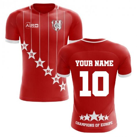 2019-2020 Liverpool 6 Time Champions Concept Football Shirt (Your Name)
