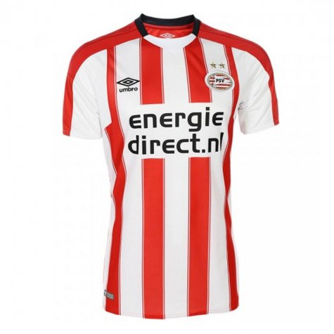 bcbe84b14cd 2017-2018 PSV Eindhoven Home Football Shirt (Kids) [77707U ...