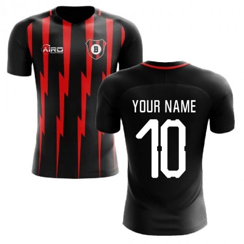 2020-2021 Bournemouth Home Concept Football Shirt (Your Name)