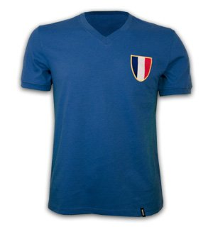 France 1968 Olympics Short Sleeve Retro Shirt 100% cotton
