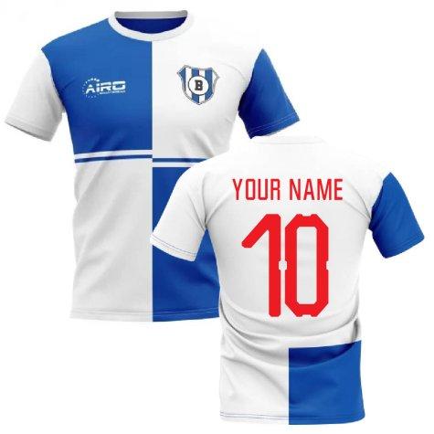 2020-2021 Blackburn Home Concept Football Shirt (Your Name)