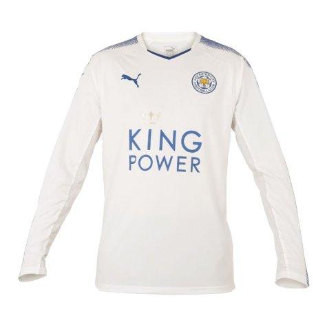 2017-2018 Leicester Puma Third Long Sleeve Football Shirt