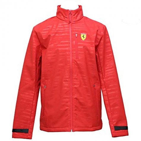2017 Ferrari Puma Softshell Jacket (Red)