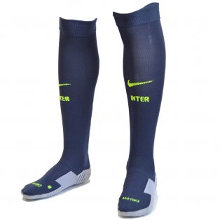 2017-2018 Inter Milan Nike Third Socks (Thunder Blue)