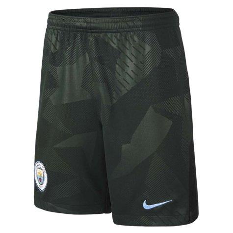 2017-2018 Man City Third Nike Football Shorts (Kids)
