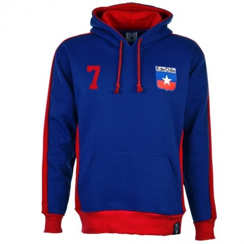Chile Number 7 Retro Hoodie