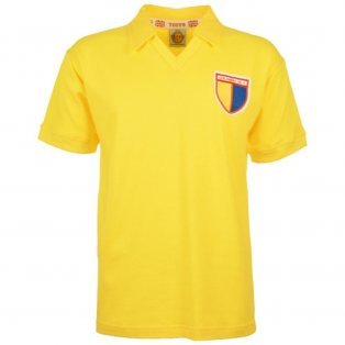 Colombia 1985 Retro Football Shirt