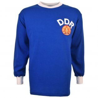 East Germany DDR 1970 Retro Football Shirt