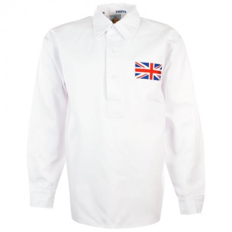 Great Britain Olympics 1908 Retro Football Shirt