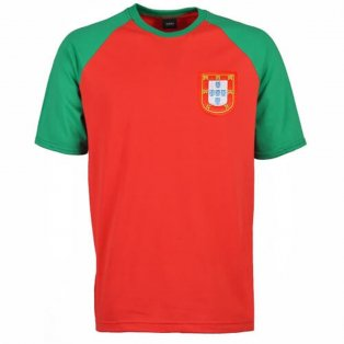 Portugal Raglan Sleeve Red/Green T-Shirt