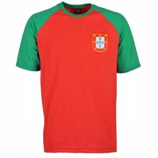 Portugal Raglan Sleeve Red/Green T-Shirt