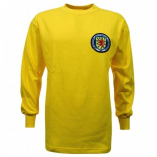 Scotland 1967 Ronnie Simpson Retro Football Shirt