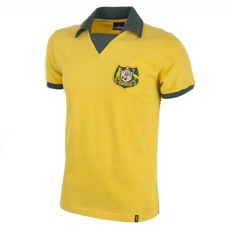 Australia World Cup 1974 Short Sleeve Retro Football Shirt