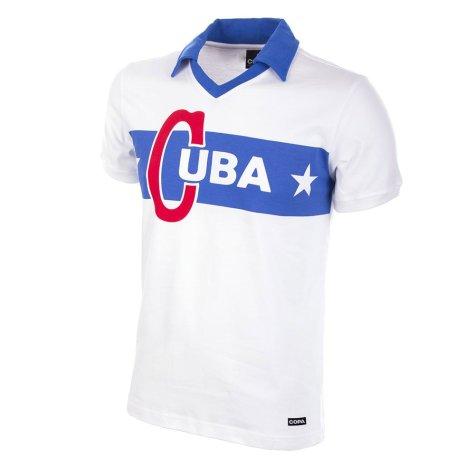 Cuba 1962 Castro Short Sleeve Retro Football Shirt