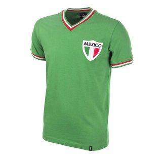 info for e90b2 781eb Mexico Pele 1980's Short Sleeve Retro Football Shirt