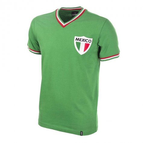 Mexico Pele 1980's Short Sleeve Retro Football Shirt