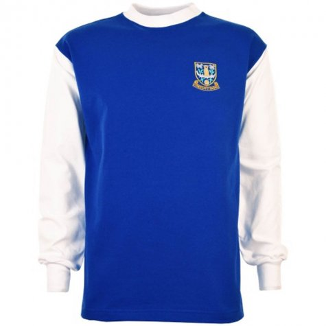 Sheffield Wednesday 1960s Retro Football Shirt