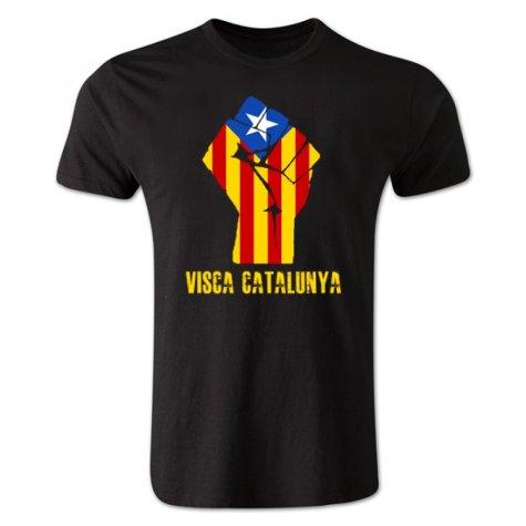 Visca Catalunya T-Shirt (Black) - Kids
